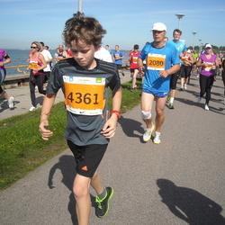 SEB Tallinna Maraton - Olev Mihkelson (2080), David Jaanson (4361)