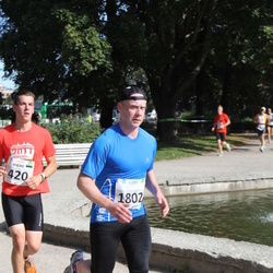 SEB Tallinna Maraton - Andre Petraudze (420), Vahur Mäe (1802)