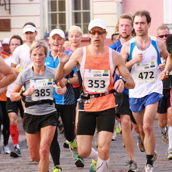 SEB Tallinna Maraton - Leho Laja (353), Ly Sillanurm (385), Arno Vaik (431), Jan Dubrovski (472), Vahur Samberk (1910)