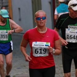 SEB Tallinna Maraton - Anastasia Gerassimova (619), Paavo Pajunen (1648)