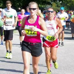 SEB Tallinna Maraton - Kärt Paalma (212), Alessandro Pontolillo (219)