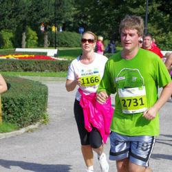 SEB Tallinna Maraton - Angelika Asper (1166), Alari Kaljurand (2731)
