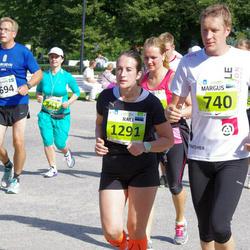 SEB Tallinna Maraton - Johan Källbäck (694), Margus Jänese (740), Anna Ovchinnikova (841), Raili Saaron (1291)