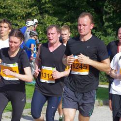 SEB Tallinna Maraton - Marina Lillo (1062), Ardo Säks (1311), Tanel Unt (5832), Boris Hozailov (6245)