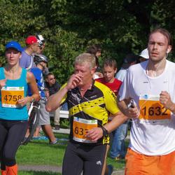 SEB Tallinna Maraton - Juri Reinsalu (1632), Annika Mets (4758)