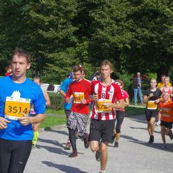 SEB Tallinna Maraton - Arina Kozatšuk (1376), Henrik Kurm (2043), Riivo Luik (3514), Martin Haljaste (5587)