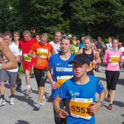 SEB Tallinna Maraton - Berit Jürgenson (1490), Merle Sõrra (2378), Carl Robert Kallaste (5552), Triin Toome (7064)