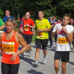 SEB Tallinna Maraton - Vahur Aasala (4292), Andrias Graf (4485), Thea Treu (4502), Carl Kalju (7587)