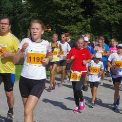SEB Tallinna Maraton - Ruth Voolukivi (1193), Charleen Werder (2124), Robin Pedai (5021), Artur Sepp (5023), Julius Air Kull (7695)