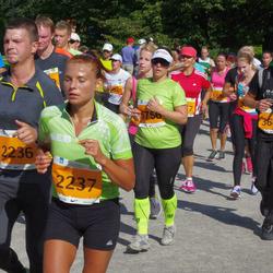 SEB Tallinna Maraton - Veikko Põldaru (2236), Kadri Põldaru (2237), Aleksei Dovbnja (3683), Maia Mesila (5756)