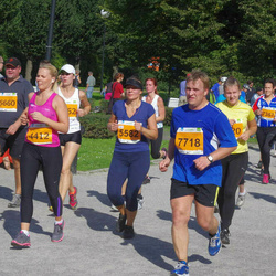 SEB Tallinna Maraton - Teele Reedi (4412), Anastassia Zdanevitš (5582), Kaido-Paul Kranfeldt (7718)