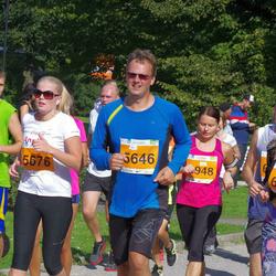 SEB Tallinna Maraton - Kristjan Õim (5646), Annika Veensalu (5676)