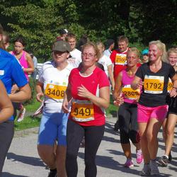SEB Tallinna Maraton - Angeelika Põldes (949), Karen Root (1792), Triin Olesk (2806), Jana Laaneser (3408), Agne Roosileht (3614)