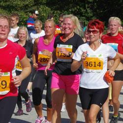 SEB Tallinna Maraton - Angeelika Põldes (949), Agne Roosileht (3614), Kalev Pulk (3702)