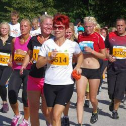 SEB Tallinna Maraton - Agne Roosileht (3614), Kalev Pulk (3702), Maarja Relvik (5489), Kati Kuusk (6427)