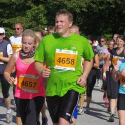 SEB Tallinna Maraton - Anita Tamm (4657), Holger Tamm (4658)