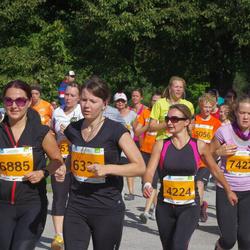 SEB Tallinna Maraton - Larissa Mein (4224), Anni Trikkant (6885), Kristin Puusepp (7422)