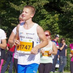 SEB Tallinna Maraton - Egle Põim (1549), Brandon Loorits (1747)