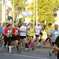 SEB Tallinna Maraton - Agne Väljaots (544), Inger Damlin (908), Tauno Ojasaar (1115), Maria Lund (1757)