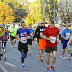 SEB Tallinna Maraton - Arto Antikainen (1346), Nikolay Morozov (1761), Tarmo Kadak (1822)
