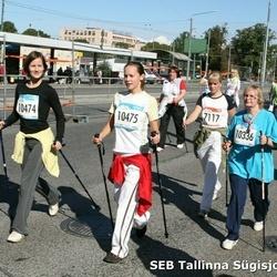 8. SEB Tallinna Sügisjooks - Annely Viira (7117), Maie Rihter (10336), Marit Dremljuga (10474), Tuuli Ploomipuu (10475)