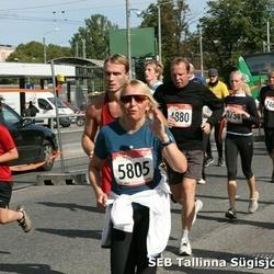 8. SEB Tallinna Sügisjooks - Schwenn Seene (4880), Annely Lõhmus (5805)