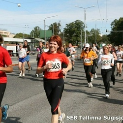 8. SEB Tallinna Sügisjooks - Maria Roosaar (3585), Arno Sotter (4335), Aire Ojandu (6282)
