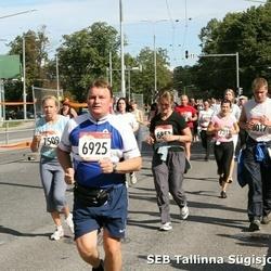 8. SEB Tallinna Sügisjooks - Aivar Roogsoo (6925), Annika Liiv (7509)