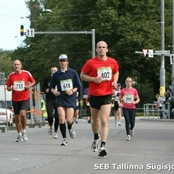 8. SEB Tallinna Sügisjooks - Keili Ulm (292), Heiki Meier (402), Hindrek Nokkur (618), Aarne Rannamäe (733)