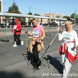8. SEB Tallinna Sügisjooks - Pille Vips (10581), Age Mardim (10582)