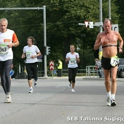 8. SEB Tallinna Sügisjooks - Aalo Parmas (363), Raivo Nõmmik (477), Sirli Saarmaa (478)