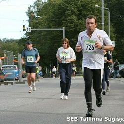 8. SEB Tallinna Sügisjooks - Aadi Remmik (520), Lembe Veskimägi (612), Melvin Sinirand (726)