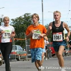 8. SEB Tallinna Sügisjooks - Annika Tasa (278), Sven Friberg (307), Ats Tuisk (597), Siim Sarapu (1087)
