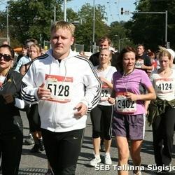 8. SEB Tallinna Sügisjooks - Anneli Tandorf (3402), Peter Johanson (5128), Ben Russell (5321)