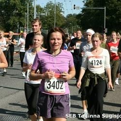 8. SEB Tallinna Sügisjooks - Anneli Tandorf (3402), Eelika Lumiste (6674)
