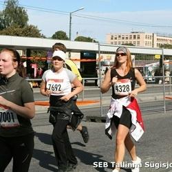 8. SEB Tallinna Sügisjooks - Angelika Asper (4328), Marit Metsa (7001), Triin Siiner (7692)