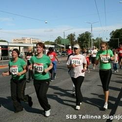 8. SEB Tallinna Sügisjooks - Aire Pentjärv (5433), Maila Kirs (5437), Berit Akerman (5916), Greete Riimaa (7638)