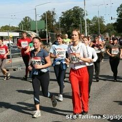 8. SEB Tallinna Sügisjooks - Annika Leis (5820), Siret Merisalu (5897)