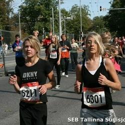 8. SEB Tallinna Sügisjooks - Agne Laud (5211), Kertu Subka (6301)