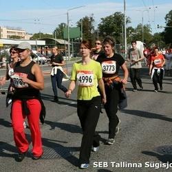 8. SEB Tallinna Sügisjooks - Marve Reinsalu (3773), Anne Trumm (4996), Bret Pavel (7989)
