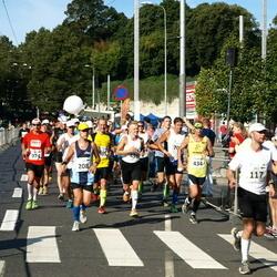 SEB Tallinna Maraton - Ville Hara (117), Ivo Volt (208), Andris Leja (434)