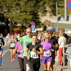 SEB Tallinna Maraton - Aet Udusaar (617), Kairit Valk (869)