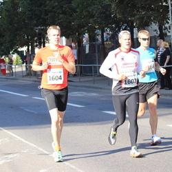 SEB Tallinna Maraton - Arttu Sadeharju (1602), Jukka Sadeharju (1604)