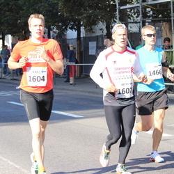 SEB Tallinna Maraton - Avo Muromägi (1466), Arttu Sadeharju (1602), Jukka Sadeharju (1604)