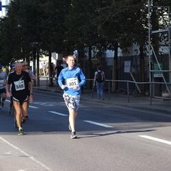 SEB Tallinna Maraton - Jüri Leesmäe (348), Aare Tuulik (801)