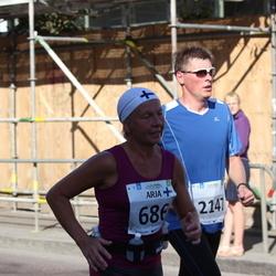SEB Tallinna Maraton - Arja Pirhonen (686), Erkki Leetsar (2147)