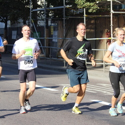 SEB Tallinna Maraton - Karl Erlenheim (640), Ando Meerbach (868)