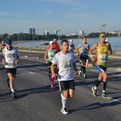 SEB Tallinna Maraton - Ivo Vahtramäe (142), Andreas Veeret (264), Andris Leja (434)