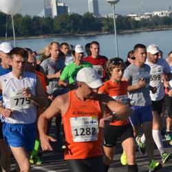 SEB Tallinna Maraton - Janno Metsapool (779), Ari Viljanen (1282)