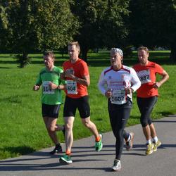 SEB Tallinna Maraton - Kunnar Kuuder (314), Arttu Sadeharju (1602), Jukka Sadeharju (1604), Argo Undla (1887)